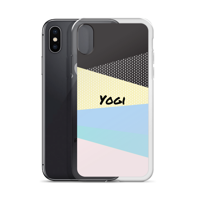 Yogi Yoga iPhone Case: Pink Passion