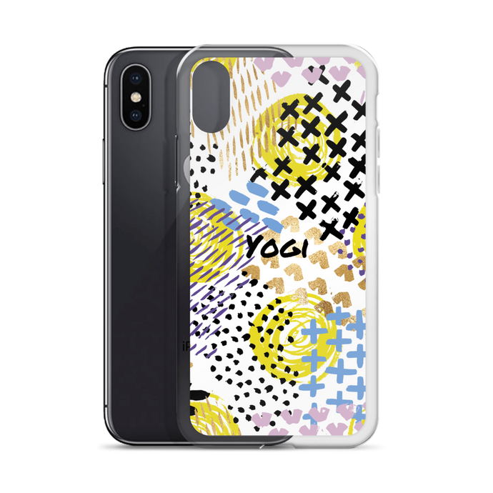Yogi Yoga iPhone Case - New Years