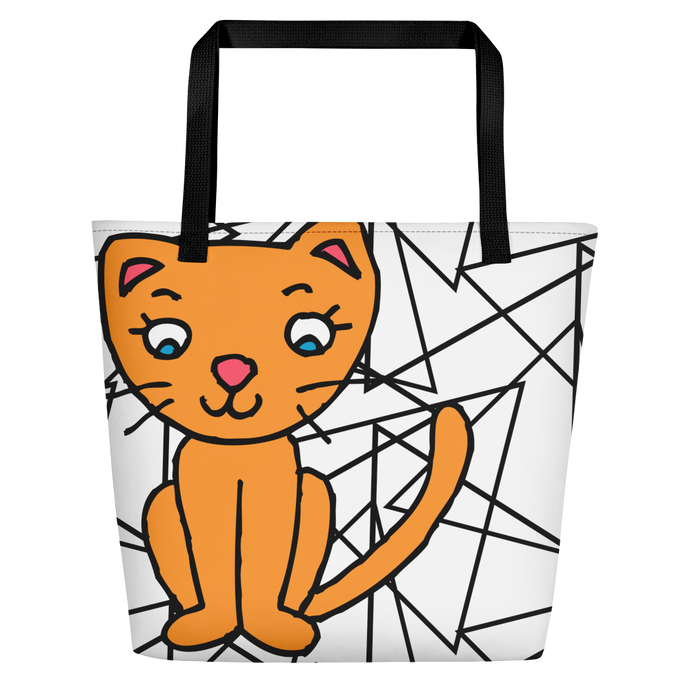 TYC Tote Bags: Kitty Curious