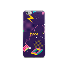 Yogi Yoga iPhone Case: Purple 80