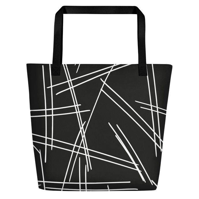 TYC Tote Bags: Rough Lines
