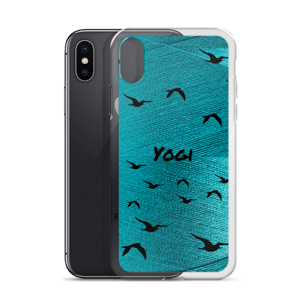 Yogi Yoga iPhone Case: Green Yarn