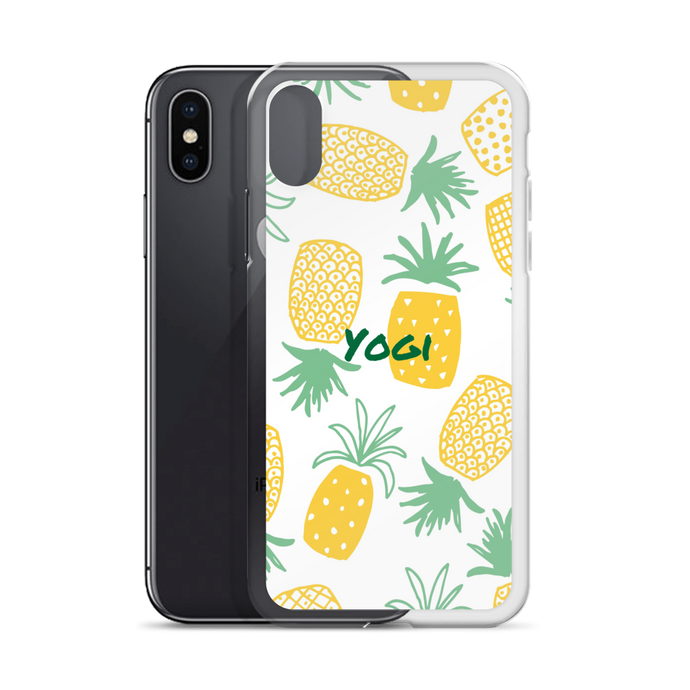 Yogi Yoga iPhone Case: Pineapple Express