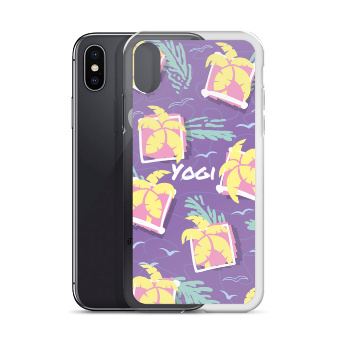 Yogi Yoga iPhone Case: Sunshine Purple