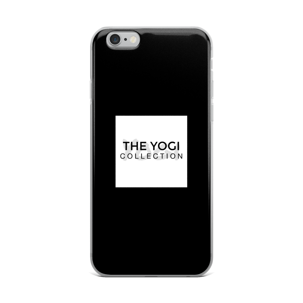 Royal Black iPhone Case