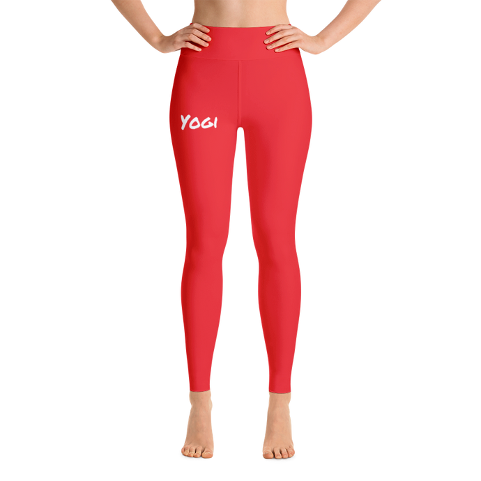 TYC Pants: Solid Red
