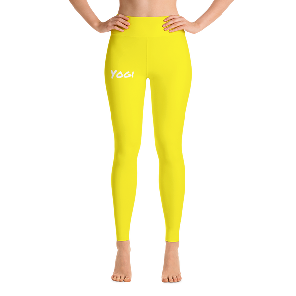 TYC Pants: Solid Yellow
