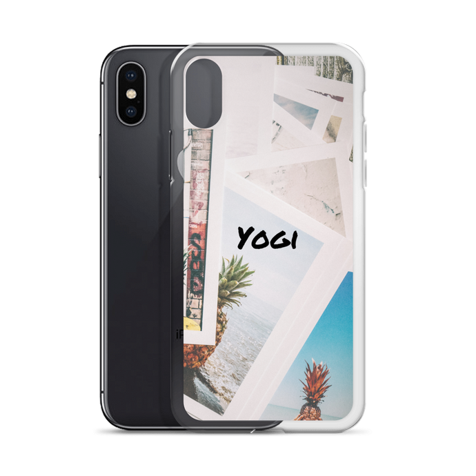Yogi Yoga iPhone Case - Snap Shot