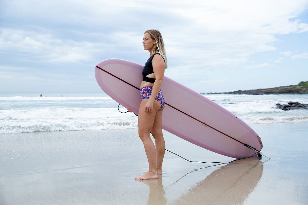 Indigo and Salt, womens surf, womens surfsuits, swimwear, sustainable surfwear, sustainable swim, womens wetsuits, bikinis, womens surf wear, womens surf bathing suits, lauren newman, loz newman, lemon spicy, salt gypsy, surfing mum