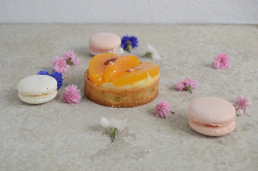 Peach and Almond Mini Tart