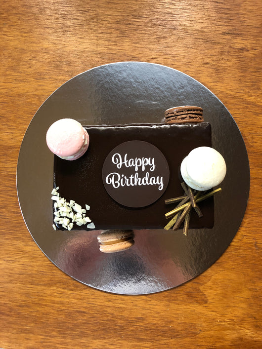 Birthday Cake Chocolate Trianon