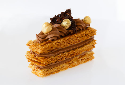 Mille-feuille - Chocolate & Hazelnut