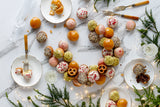 Christmas Wreath Choux Profiterole