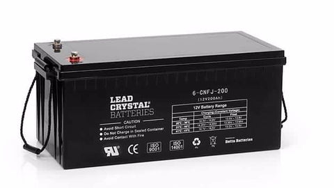 Lead-Crystal Batteries