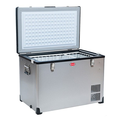 SnowMaster BD/C-95 Stainless Steel Fridge Freezer Single Door