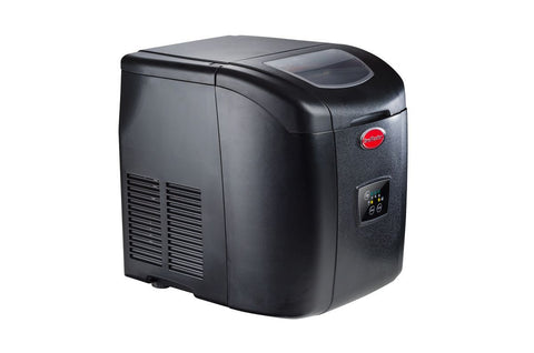 SnoMaster Black Cabinet Plastic Automatic Icemaker
