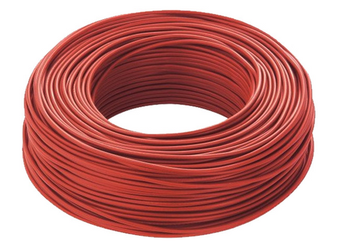 Solar Cable 6mm 100M Length Red