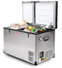 Snomaster BD/C-60D Stainless Steel Dual Fridge / Freezer Dual Compartments