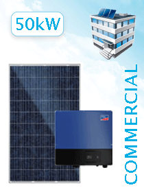 SMA 25-50kW Canadian Solar 275W - Commercial Grid Tie Package