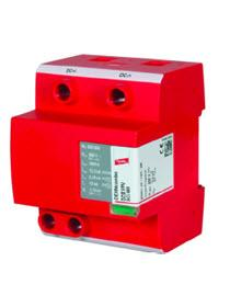 PV DC Lightning Current & Surge Arrester - Type 1 + 2 combined 600VDC