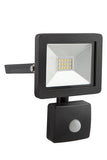 Eurolux Led Floodlight 10W With Sensor Black