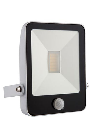 Eurolux Led Floodlight 10W With Sensor and Remote White