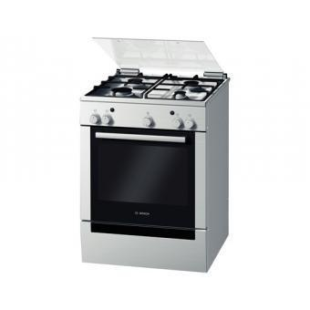 Bosch Serie 2 60CM Freestanding Gas / Gas Cooker Stainless Steel