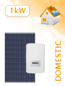 4 X JA Solar 275W Poly 5BB / Solis 1.0kW Grid Tie Package