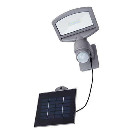 Eurolux Sunshine Solar Wall Light Silver