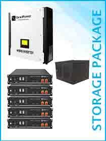 Omnipower Plus 5kW Hybrid / Pylon 12kWh Package Including Cabinet