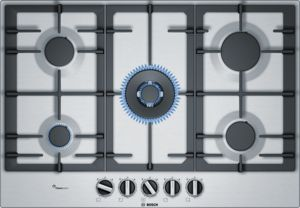 Bosch Serie 6 75cm Gas Hob1 with Wok Burner