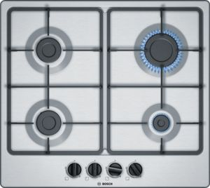 Bosch Serie 4 60CM Gas Hob with Integrated Controls
