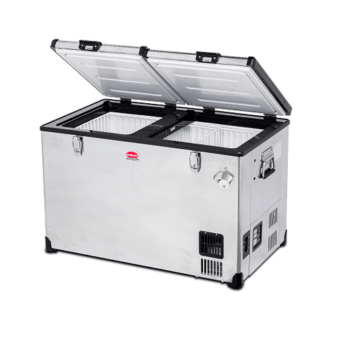 SnowMaster SMDZ-TR82D12/220  Volt Stainless Steel Fridge / Freezer