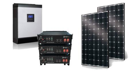Solar Home Kit 5Kva - 7.2kw Lithium Battery 3.2kw Solar Panels