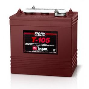 Trojan T105 225Ah 6V Deep Cycle Battery
