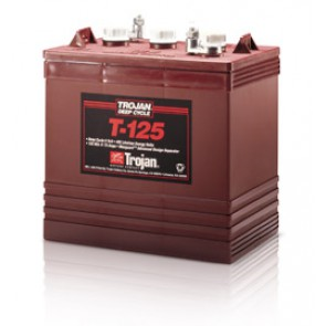 Trojan T125 240Ah 6V Deep Cycle Battery