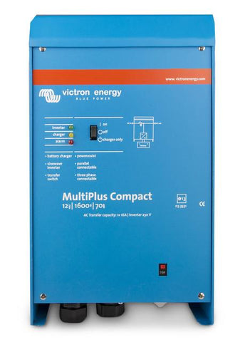 Victron Energy MultiPlus Compact 24/1600/40-16 VE.Bus 1300W Inverter Charger