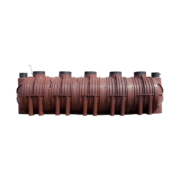 Calcamite Bio-Mite BM 500 Upwards Waste Water Treatment Plant - Below Ground