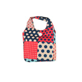 QQ2136-1 K  -  Simple Green Dot ECO Foldable Shopper