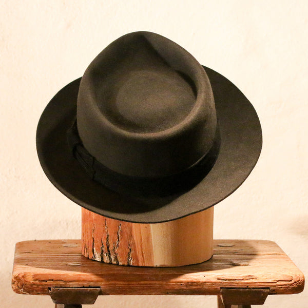 IL PADRINO – BLACK TEAR DROP FEDORA