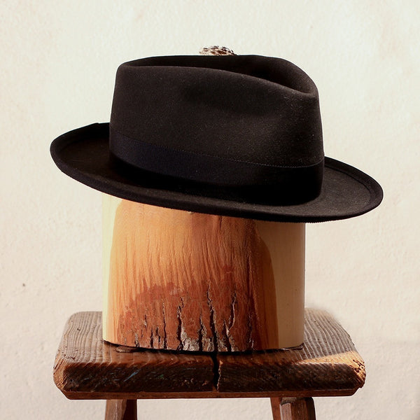 HUN – BLACK TEAR DROP FEDORA