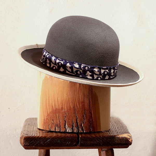 MANCORA – GREY OPEN CROWN FEDORA