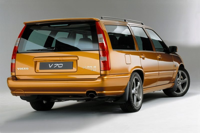 Volvo V70R AWD Saffron CarsEnth Canvas T-Shirt Art