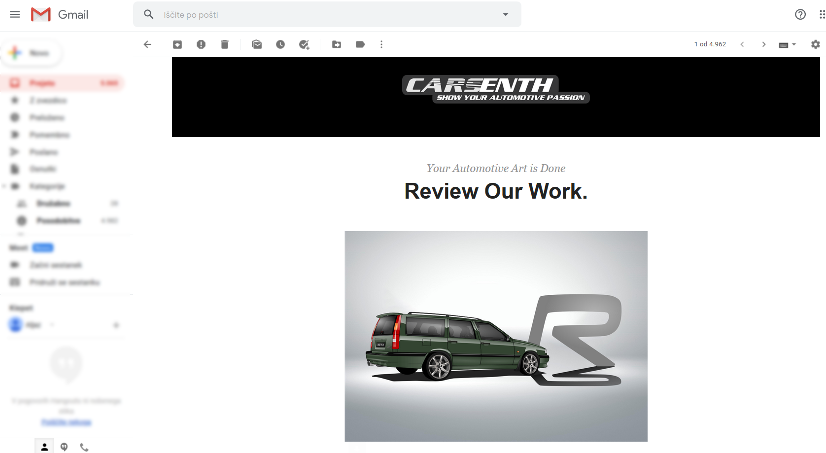 CarsEnth - Review our work and confirm your order