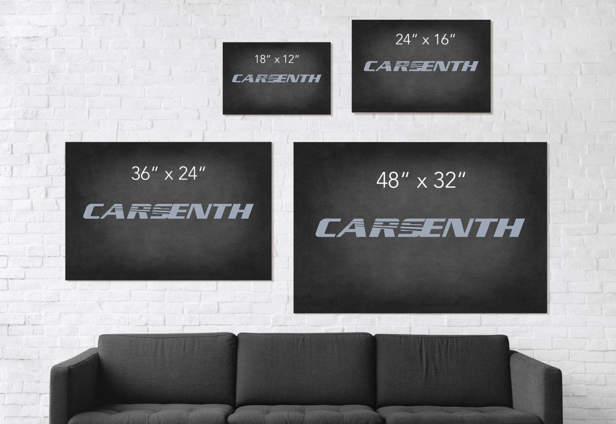 CarsEnth - Canvas size comparison table image