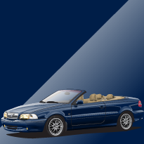 Volvo C70 417 Nautic Blue