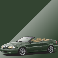 Volvo C70 421 Emerald Green