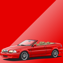 Volvo C70 612 Passion Red