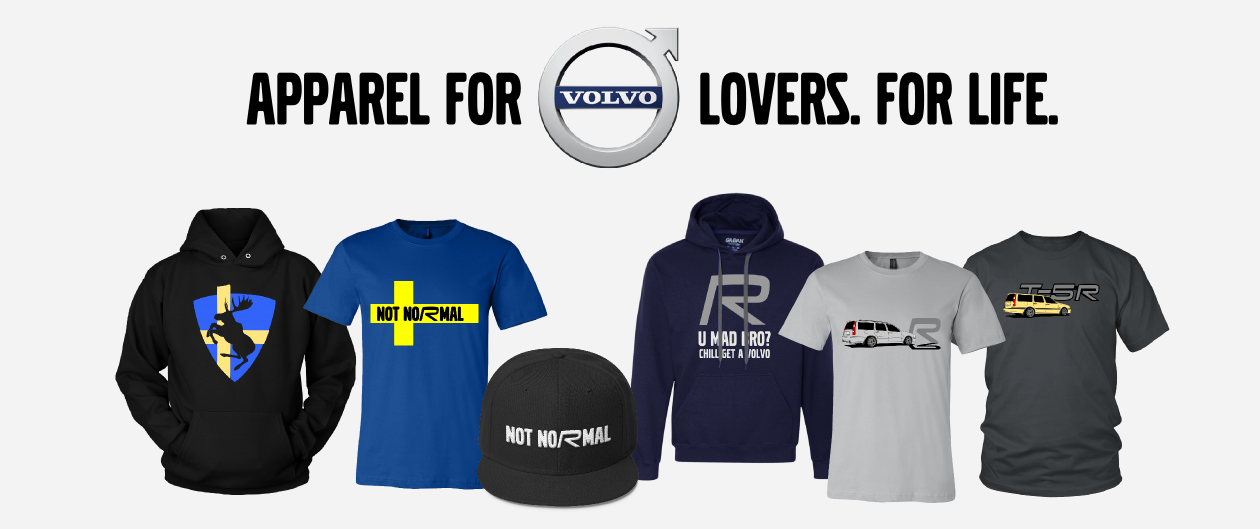 Volvo Apparel Collection T-Shirt Hoodie Snapback
