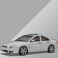 Volvo S60R 477 Electric Silver